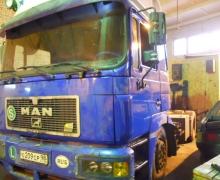 ремонт грузовика Ман