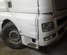 Ремонт пластика грузовика